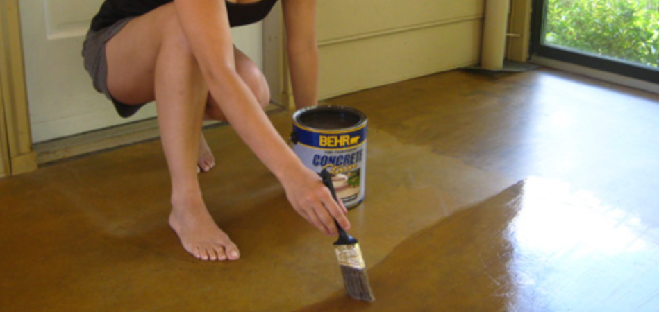 How Does A Concrete Stain Work
