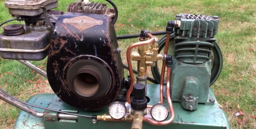 How Does A Gas Operated Air Compressor Perform