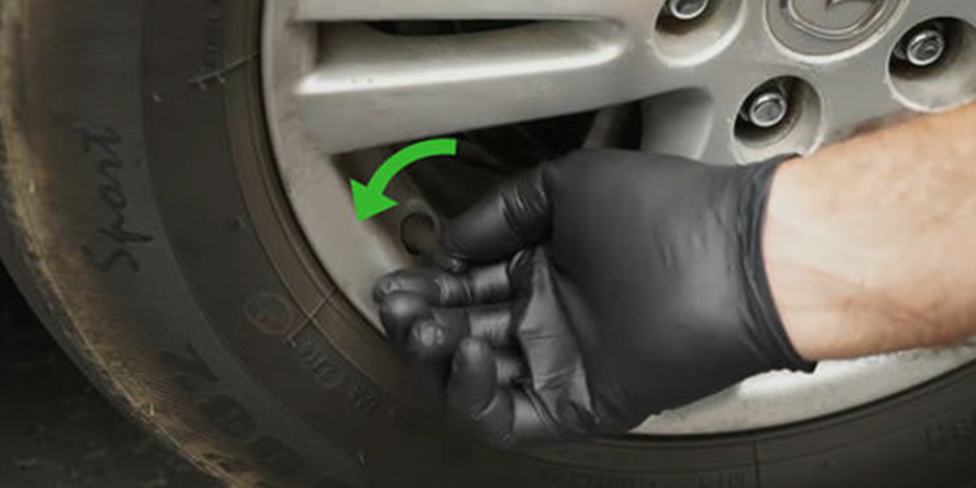 How To Inflate A Car Tire