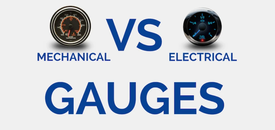 Differences Between Mechanical Gauge and Electric Gauge