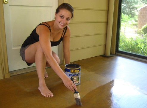Things You Need to Stain a Concrete Floor